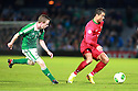 Portugal's Christiano Ronaldo taclkes Northern Ireland's Shane Ferguson during a World Cup Qualifier in Belfast, Friday September 6th, 2013.  Photo/Paul McErlane