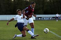 during Tottenham Hotspur Ladies vs Aston Villa Ladies, FA Women's Championship Football at Theobalds Lane on 28th October 2018