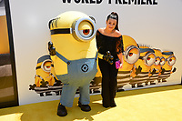 Dana Gaier at the world premiere for &quot;Despicable Me 3&quot; at the Shrine Auditorium, Los Angeles, USA 24 June  2017<br /> Picture: Paul Smith/Featureflash/SilverHub 0208 004 5359 sales@silverhubmedia.com