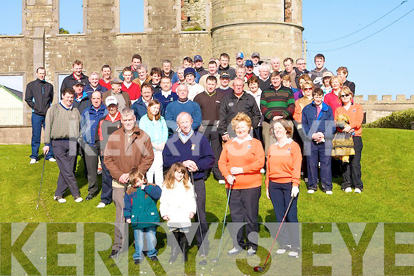 Captains Willie Barret and lady Capt held their annual drive at Ballyheigue Golf Club obn Sunday were a large crowd gathered to watch.......................