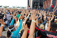 SÃO PAULO,SP, 07.11.2015 - FESTIVAL-PROMESSAS - Público durante o Festival Promessas 2015, que acontece no Campo de Marte, zona norte de São Paulo, neste sábado, 7. (Foto: Douglas Pingituro/Brazil Photo Press/Folhapress)