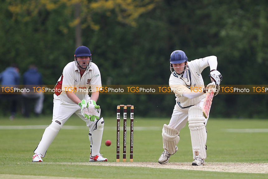 Gary Hinds  of Billericay during South Woodford CC vs Billericay CC, Shepherd Neame Essex League Cup Cricket at Highfield Road on 6th May 2017