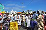 Festa de Iemanja no Rio Vermelho. Salvador. Bahia. 2012. Foto de Lucia Correia Lima.