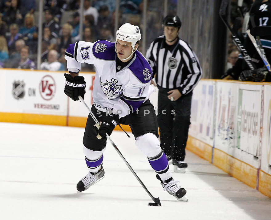 KYLE CLIFFORD of the Los Angeles Kings.