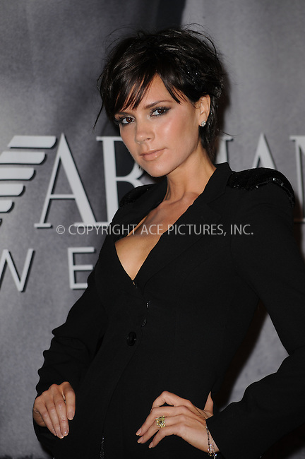 WWW.ACEPIXS.COM . . . . . ....May 6 2009, New York City....Victoria Beckham made an appearance at Macy's Herald Square to unveil the new Emporio Armani underwear campaign on May 6, 2009 in New York City.....Please byline: KRISTIN CALLAHAN - ACEPIXS.COM.. . . . . . ..Ace Pictures, Inc:  ..tel: (212) 243 8787 or (646) 769 0430..e-mail: info@acepixs.com..web: http://www.acepixs.com