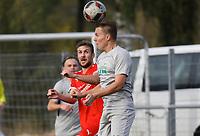 Matthias Wegerle (Bürstadt) gegen Pascal Wicht (Büttelborn) - Büttelborn 03.10.2018: SKV Büttelborn vs. SV Bürstadt