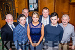 Racing to get there<br /> -------------------------<br /> Enjoying the Horse &amp; Pony racing, Southern region, social in the Riverisland hotel Castleisland last Saturday night were L=R Paddy O'sullivan, Mikey Mulvihill, Pat Collins, Amy Carmody, Joack O'Sullivan, Conor Keane and Sean King.