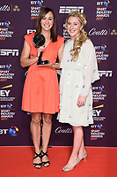 Jessica Ennis-Hill and Laura Kenny<br /> at the BT Sport Industry Awards 2017 at Battersea Evolution, London. <br /> <br /> <br /> ©Ash Knotek  D3259  27/04/2017