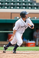 Josh Workman (4) of the Lakeland Flying Tigers during a game vs. the Ft. Myers Miracle June 6 2010 at Joker Marchant Stadium in Lakeland, Florida. Ft. Myers won the game against Lakeland by the score of 2-0.  Photo By Scott Jontes/Four Seam Images