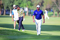 Lee Westwood (ENG) approaches the 8th green during round 1 of the World Golf Championships, Mexico, Club De Golf Chapultepec, Mexico City, Mexico. 3/2/2017.<br />