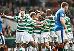Stuart Armstrong celebrates his goal