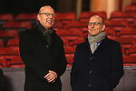 United chairmen Avram and Joel Glazer - Manchester United vs. Burnley - Barclay's Premier League - Old Trafford - Manchester - 11/02/2015 Pic Philip Oldham/Sportimage