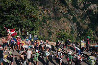 "coming through ""Dutch Corner"" (#7)<br /> <br /> Stage 12: Bourg-Saint-Maurice / Les Arcs > Alpe d'Huez (175km)<br /> <br /> 105th Tour de France 2018<br /> ©kramon"
