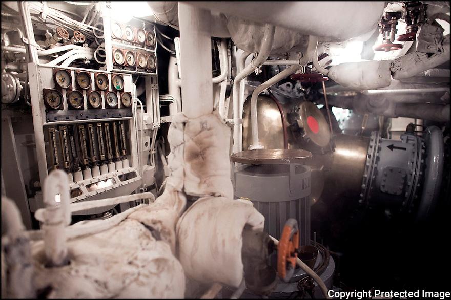 Février 2009/ Océan Indien/ Machine.