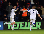 Sunderland's Steven Fletcher celebrates scoring his sides third goal<br /> <br /> - Barclays Premier League - Crystal Palace vs Sunderland- Selhurst Park - London - England - 3rd November 2014  - Picture David Klein/Sportimage