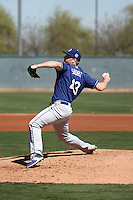 Josh Sborz - Los Angeles Dodgers 2016 spring training (Bill Mitchell)