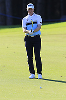 Richard McEvoy (ENG) prepares to play his 2nd shot on the 5th hole during Saturday's Round 3 of the 2018 Turkish Airlines Open hosted by Regnum Carya Golf &amp; Spa Resort, Antalya, Turkey. 3rd November 2018.<br /> Picture: Eoin Clarke | Golffile<br /> <br /> <br /> All photos usage must carry mandatory copyright credit (&copy; Golffile | Eoin Clarke)