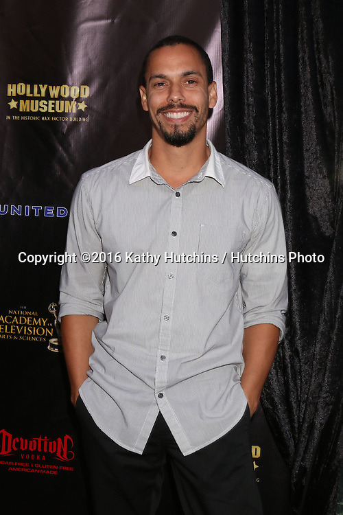 LOS ANGELES - APR 27:  Bryton James at the 2016 Daytime EMMY Awards Nominees Reception at the Hollywood Museum on April 27, 2016 in Los Angeles, CA