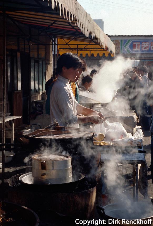 China, Peking, Garküche bei der Jinsong-Straße
