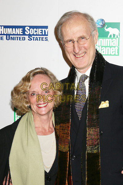 JOAN MacINTOSH & JAMES CROMWELL.20th Anniversary Genesis Awards presented by  US Humane Society, Beverly Hills, California, USA..March 18th, 2006.Photo: Byron Purvis/AdMedia/Capital Pictures.Ref: BP/ADM.headshot portrait scarf glasses.www.capitalpictures.com.sales@capitalpictures.com.© Capital Pictures.