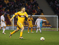 Simon Ramsden in the Motherwell v Aberdeen, Clydesdale Bank Scottish Premier League match at Fir Park, Motherwell on 26.12.12.