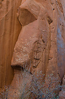 Rock Profile in Devils Garden, Arches National Park, Utah, US