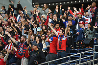 San Diego, CA - Sunday January 21, 2018: Fans prior to an international friendly between the women's national teams of the United States (USA) and Denmark (DEN) at SDCCU Stadium.