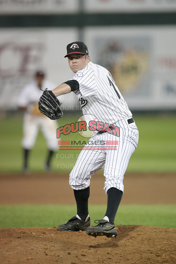 August 11, 2009: Mitch Hodge of the Idaho Falls Chukars. The Chukars are the Pioneer League affiliate for the Kansas City Royals. Photo by: Chris Proctor/Four Seam Images