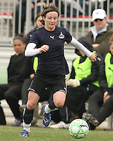 Sonia Bompastor of the Washington Freedom during a WPS pre season match against Sky Blue F.C. at Maryland Soccerplex,in Boyd's, Maryland on March 14 2009. Sky Blue won the match 1-0