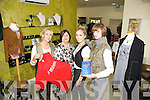 Claire Murphy, Margaret Brick, Kristin McKenzie Vass and Niamh Comerford at the Green House Clothing Launch in Expose Salon, Mounthawk on Sunday night which raised funds for MS Ireland.