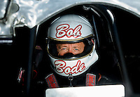 Sept. 5, 2010; Clermont, IN, USA; NHRA funny car driver Bob Bode during qualifying for the U.S. Nationals at O'Reilly Raceway Park at Indianapolis. Mandatory Credit: Mark J. Rebilas-