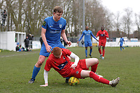 Max Bradford of Barking during Barking vs South Park, BetVictor League South Central Division Football at Mayesbrook Park on 7th March 2020
