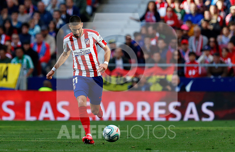 Atletico de Madrid's Yannick Carrasco during La Liga match. Mar 07, 2020. (ALTERPHOTOS/Manu R.B.)