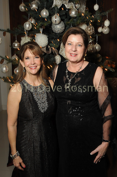 Chairs Donna Grehn and Sharon Schwartz at the 27th annual Trees of Hope Holiday Gala at The Citadel on Kirby Friday Oct. 04,2016.(Dave Rossman photo)