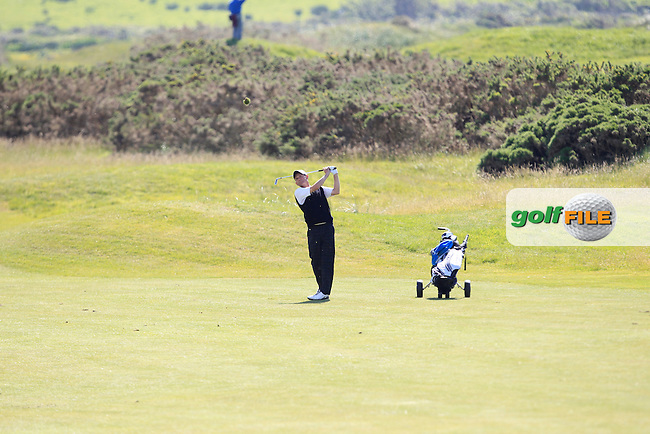 Setphen East (ENG) on the 3rd during Round 3 of the Irish Seniors Amateur Open Championship in the Waterville Golf Club on Friday 30th May 2014.<br /> Picture:  Thos Caffrey / www.golffile.ie
