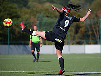 20190921 – LEUVEN, BELGIUM : E. Aalst's Annelies van Loock is pictured during a women soccer game between  Oud Heverlee Leuven Ladies B and Eendracht Aalst Ladies on the fourth matchday of the Belgian Division 1 season 2019-2020, the Belgian women's football  national division 1, Saturday 21th September 2019 at the Bruinveld Youth Complex, Domeinstraat in Leuven , Belgium. PHOTO SPORTPIX.BE | SEVIL OKTEM