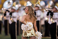 06 September 2008: The Missouri Golden girls entertained the crowd before the game with Southeast Missouri State at Memorial Stadium in Columbia, Missouri.