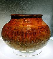 Artesanato Indigena. Ceramica Asurini. Museu do Indio. RJ. Foto de Rogerio Reis.
