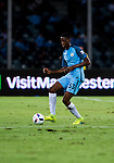 Manchester City defender Tosin Adarabioyo during their 2016 International Champions Cup China match at the Shenzhen Stadium on 28 July 2016 in Shenzhen, China. Photo by Marcio Machado / Power Sport Images