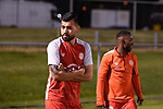 BRISBANE, AUSTRALIA - JULY 24:  during the Round of 32 Westfield FFA Cup match between Olympic FC and Bayswater City on July 24, 2019 in Brisbane, Australia. (Photo by Patrick Leigh Kearney)