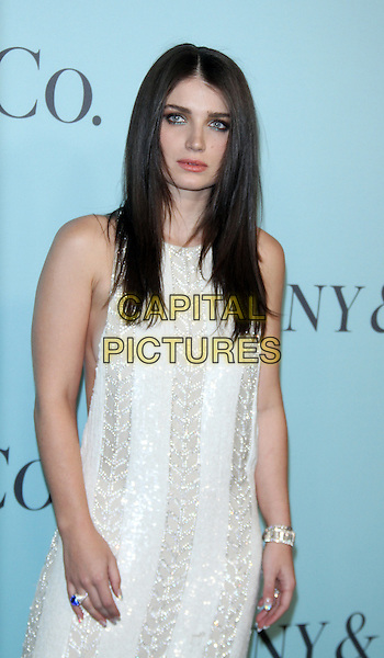 04 15,  2016: Eve Hewsonat TIFFANY &amp;  CO. 2016 BLUE BOOK at the Cunard Building in New York, USA April 15, 2016,<br /> CAP/MPI/RW<br /> &copy;RW/MPI/Capital Pictures