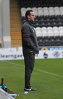 Celtic coach John Kennedy in the St Mirren v Celtic Scottish Professional Football League Under 20 match played at St Mirren Park, Paisley on 30.4.14.