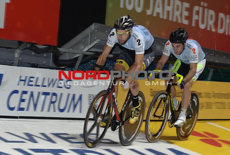 13.01.2015, &Ouml;VB Arena, Bremen, GER, Sixdays Bremen, im Bild Christian Grasmann / Tristan Marguet (Team &Ouml;VB #2)<br /> <br /> Foto &copy; nordphoto / Frisch