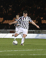 Paul McGowan in the St Mirren v Inverness Caledonian Thistle Clydesdale Bank Scottish Premier League match played at St Mirren Park, Paisley on 30.1.13.