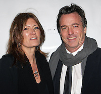 "Set designer Derek McLane and guest attend the opening night performance of Broadway's ""The Heiress"" at The Walter Kerr Theatre in New York, 01.11.2012...Credit: Rolf Mueller/face to face / MediaPunch Inc  **online only for weekly magazines**** .<br />