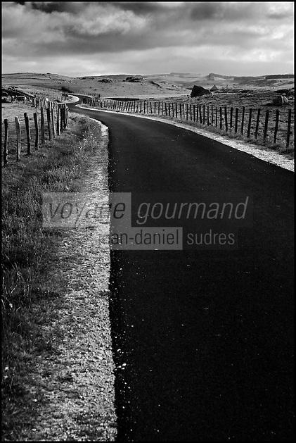 Europe/France/Languedoc-Roussillon/48/Lozère/Aubrac/Env de Marchastel: Plateau de l'Aubrac