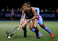 Shiloh Gloyn during the international hockey match between the Blacksticks Women and India, Rosa Birch Park, Pukekohe, New Zealand. Tuesday 16  May 2017. Photo:Simon Watts / www.bwmedia.co.nz