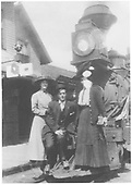 RGS class 60 locomotive at Ridgway depot.<br /> RGS  Ridgway, CO