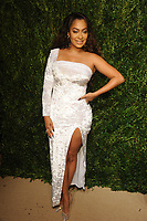 NEW YORK, NY - NOVEMBER 6: Lala Anthony at the 14th Annual CFDA Vogue Fashion Fund Gala at Weylin in Brooklyn, New York City on November 6, 2017. <br /> CAP/MPI/JP<br /> &copy;JP/MPI/Capital Pictures