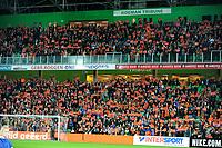 GRONINGEN -  Voetbal, Nederland - Noorwegen, Noordlease stadion, WK kwalificatie vrouwen, 24-10-2017,   Oranje tribune
